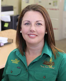 Kimberley Battersby, Office Account Manager, Soil Management Systems