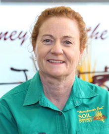 Noreen Arthur, Customer Relations Officer, Soil Management Systems