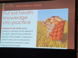 Put Soil health knowledge into practice.