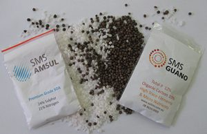 Blends of Guano and Ammonium Sulphate